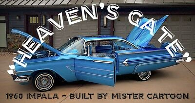 1960 Chevrolet Impala Hard Top 1960 Chevy Impala Lowrider Hydraulics Sound System Power Windows Locks Moon Roof