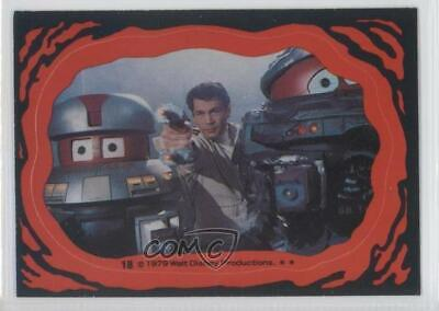 1979 Topps The Black Hole Stickers VINCENT BOB #18 0a3