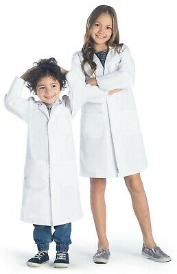 Dr. James Childrens Unisex Lab Coat With Safety Stud Buttons