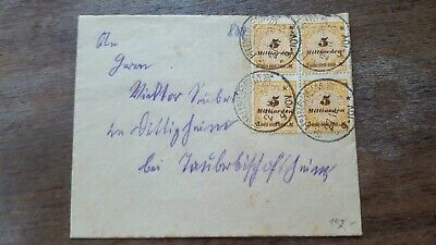 Stamps Cover Germany Reich  Postal History Nice Lot In/024