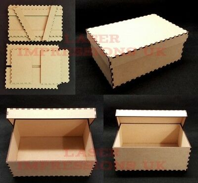 Diy Small Wooden Memory Keepsake Box 3mm Mdf Make Decorate It Yourself