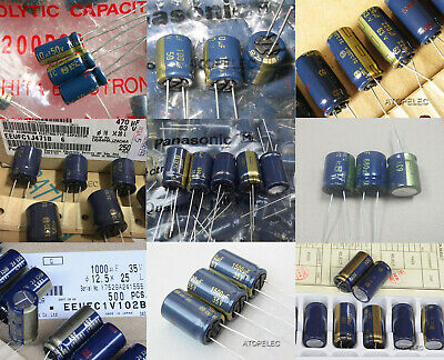 2-10pcs Panasonic Japan FC Series Hi-Fi Audio Electrolytic Capacitors