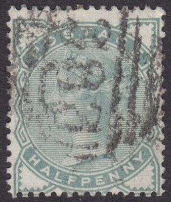 1880/1 QUEEN VICTORIA 1/2d PALE GREEN SG165 GOOD USED