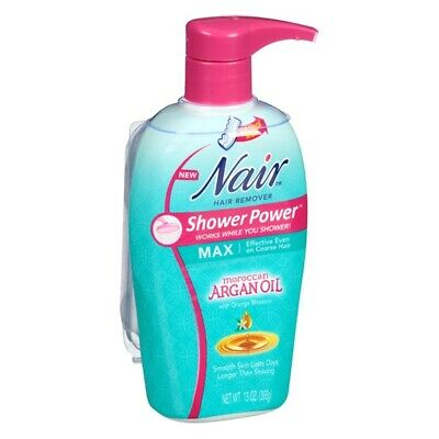 Nair Shower Power Max with Moroccan Argan Oil - Choose Pack Size