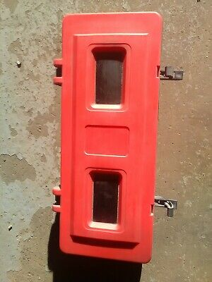 Jonesco Moulded Front Loader Fire Extinguisher Box  used good condition