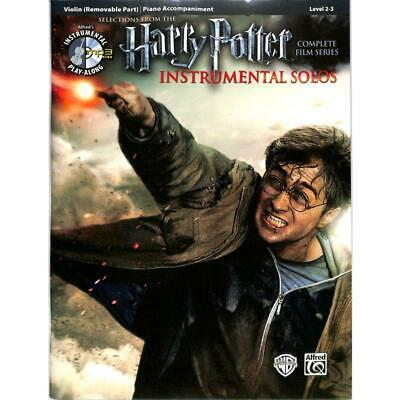 Harry Potter Instrumental Solos from the Complete Film Series - Violine Noten