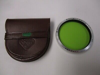 Rollei Bay III green filter (light green) for Rolleiflex 2.8 with case