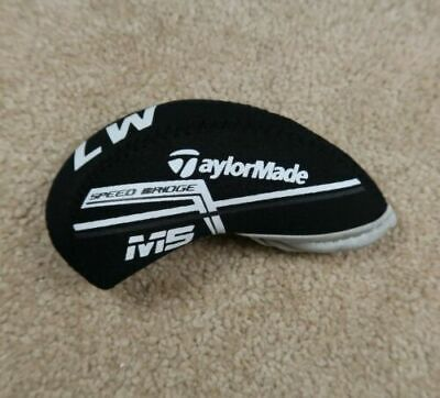 10X Black Neoprene Taylormade M5 Golf Club Iron Covers HeadCovers Touch fastener