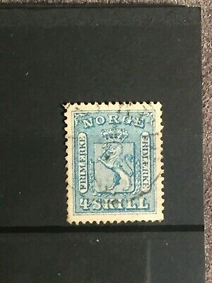 Scott #14 1867-68 Norway Stamp Used
