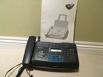 Philips magic 3 phone, fax & copier with user manual