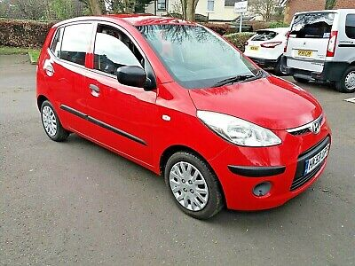 2010 HYUNDAI i10 1.2 £30 ROAD TAX 12 MONTHS MOT 5 DOOR  IDEAL FIRST CAR, CLEAN
