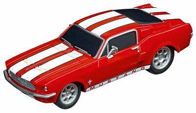 Carrera 64120 - Go Ford Mustang '67 - Course Red Auto Neuf et en Emballage