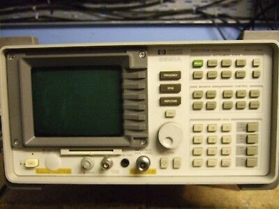 Hewlet Packard 8591A Spectrum Analyser