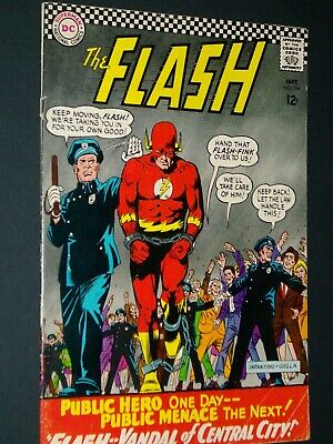 Flash #164 DC Comics Very Fine Condition. Sept 1966