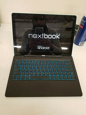 NextBook Ares 11A Tablet/Laptop Intel Quad Core 2GB 64GB Android 6.0 WiFi BT Cam