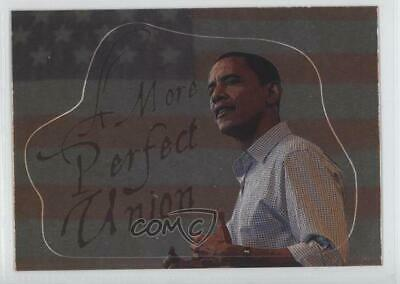 2008 Topps President Obama Collector Trading Cards #8 A More Perfect Union 1md