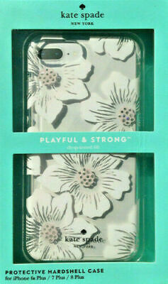 New OEM Kate Spade Hardshell Hollyhock Floral Case For iPhone 8 Plus & 7 Plus