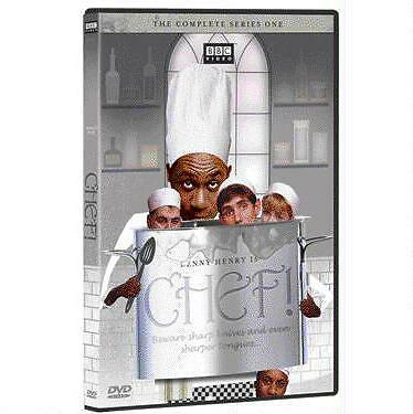 CHEF - THE COMPLETE FIRST SEASON rare British Comedy dvd LENNY HENRY 1993 MINT