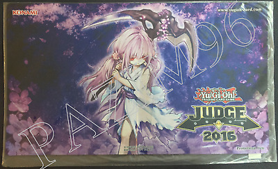 Yu-Gi-Oh! Playmat: Ghost Reaper & Winter Cherries - US JUDGE 2016 - OVP/SEALED