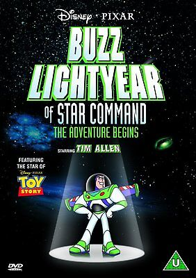 Buzz Lightyear Of Star Command (2000) Dvd Movie New