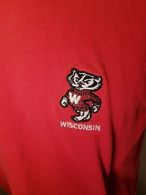 cd7503fb4 VTG WISCONSIN BADGERS Football Jersey  27 Sewn Stitched Boys Small ...