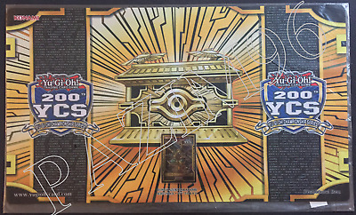 Yu-Gi-Oh! YCS 200th Set: Gold Sarcophagus Playmat + Field Center