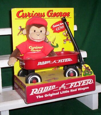 Curious George & Radio Flyer Toy