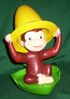Curious George Talking Animated Peek-A-Boo Plastic Toy