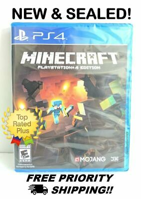 Minecraft  [Sony PlayStation 4 Edition, PS4] Brand New, Free Shipping!