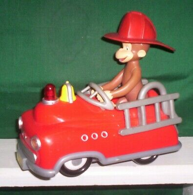 Curious George Mechanical/animated Fire Truck