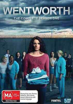 Wentworth - 5 Disc Season 1 - Australian TV Drama - plus Features - DVD
