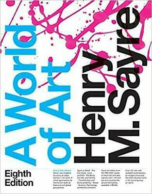 A World of Art 8th Edition by Henry M. Sayre 2016 EB00K [PDF] Instant Delivry