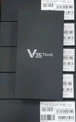 LG V35 ThinQ LM-V350A 64GB Black GSM AT&T Smartphone Brand New AT&T GSM Locked