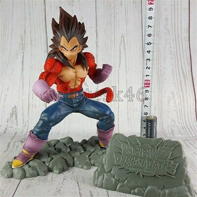 SSJ4 Super Saiyan Vegeta Figure Dragon Ball Z Dokkan Battle 4th Anime Auth /6928