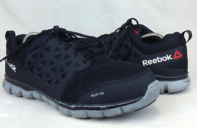 61c9598268e287 Reebok RB4041 Sz 11.5 Wide US Mens Sublite Cushion Work Alloy Safety Toe  Shoes