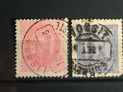 Scott #64-65 Portugal Stamps Used