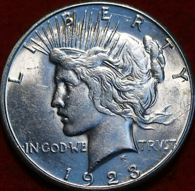 Uncirculated 1923-S San Francisco Mint Silver Peace Dollar