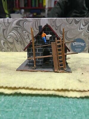 ho scale buildings built weathered