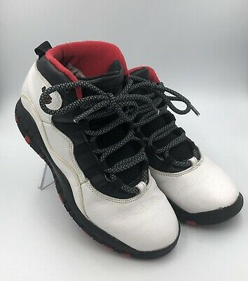 best service 03cde e24d0 NIKE AIR JORDAN X 10 Retro True Red Chicago 45 Youth Size 3Y 310807-102