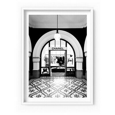 Chanel Store Front Arch - Wall Art Print Poster Canvas