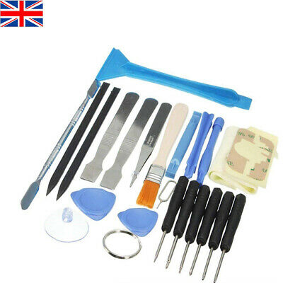 23 in 1 Mobile Phone Repair Opening Tool Pry Spudger Screwdrivers Kit Set UK