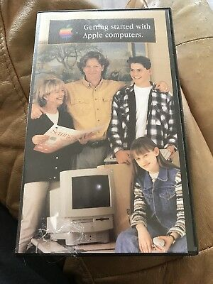 Getting Started With Apple Computer VHS