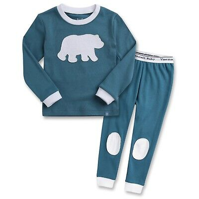 "Vaenait Baby Toddler Kids Boys Clothes Sleepwear Pajama ""Bono Bear"" XL(6-7T)"