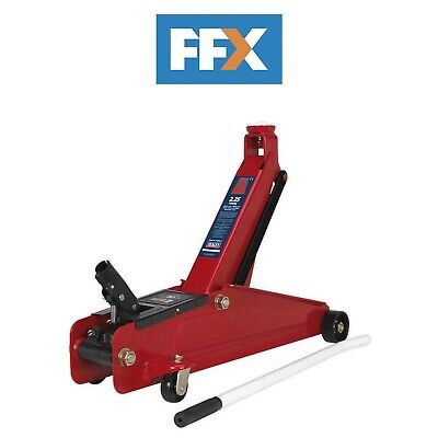 Sealey 3000HLC 3tonne Long Reach High Lift Commercial Trolley Jack