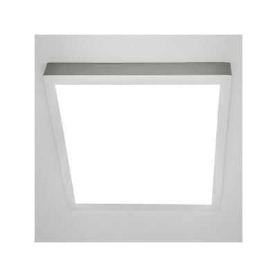 Plafon Led superficie cuadrado Color Blanco