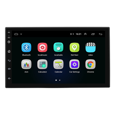 7 Inch Android Smart GPS Navigation Bluetooth Car Electronics Dog One Machine