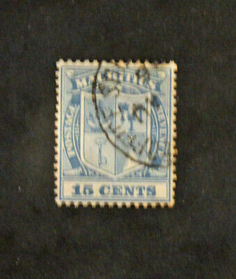 Timbre MAURICE - Yvert et Tellier n°117 Obl (Cyn31) MAURITIUS Stamp