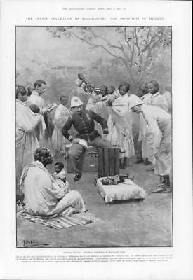 1903 Antique Print - AFRICA Madagascar French Occupation Malagasy Baby  (253)