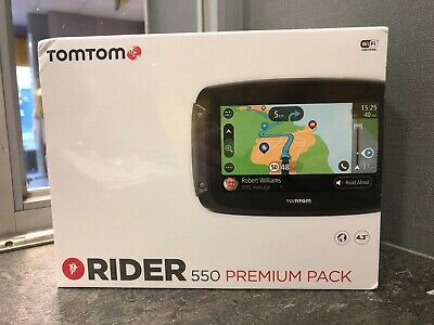 TomTom Rider 550 Premium Pack Motorcycle GPS Navigation