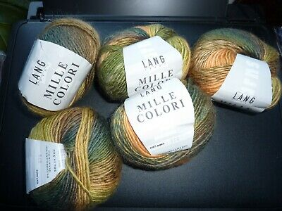 Lang Yarns - Mille Colori - 5 X 50 G - New